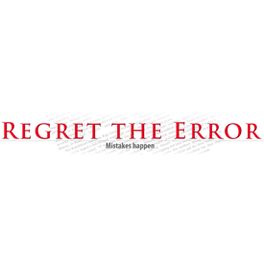 Visit Regret the Error